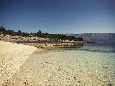 Beautiful Brac beach