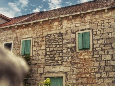 Old stone Brac house