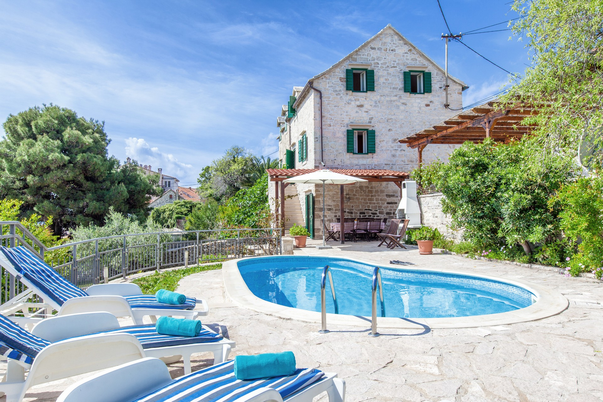 Villa Bonaca on Brac island for renting