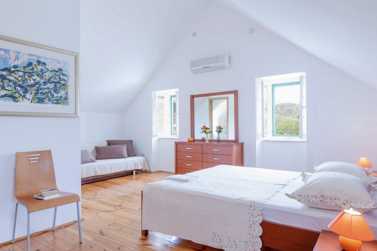 Double bedded suite room in the Villa Bonaca